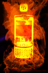 BlackBerry Torch.
