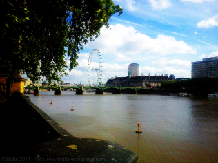 The London Eye and The River Thames