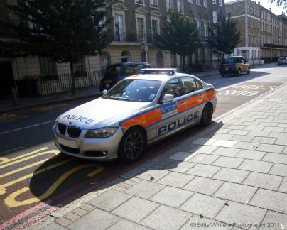 Met Police BMW 3 Series