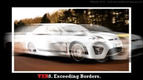 Vauxhall VXR8.