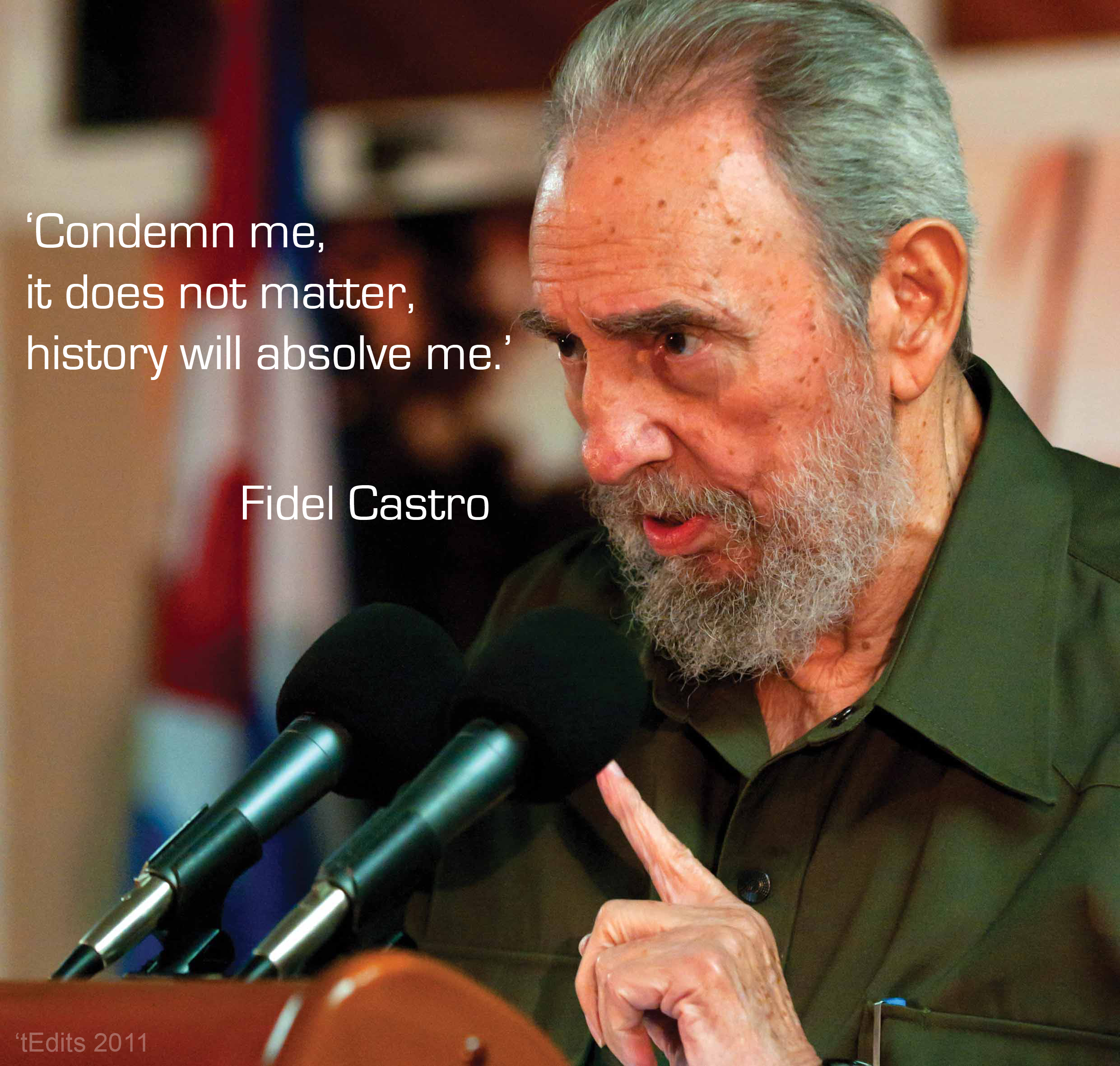 an introduction to the life of fidel alejandro castro ruz Fidel castro and cuba essay - you can judge me, but it's not important the history will justify me -fidel castro fidel alejandro castro ruz was born august 13, 1926, in cuba to parents angel castro and mother lina ruz gonzalez.