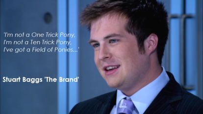 Stuart Baggs 'The Brand'