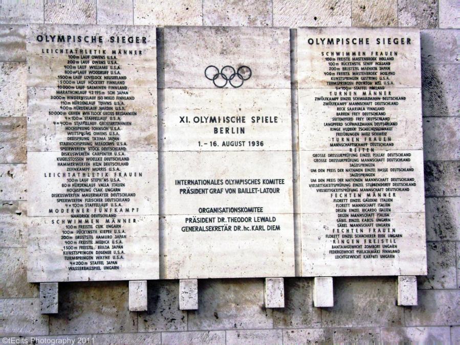 Berlin 1936 Olympic Winners