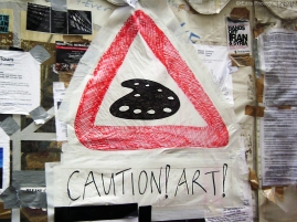 CAUTION! ART!